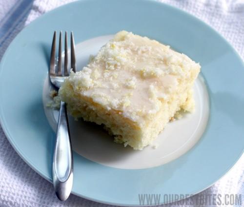 Our Best Bites Lemon Sheet Cake