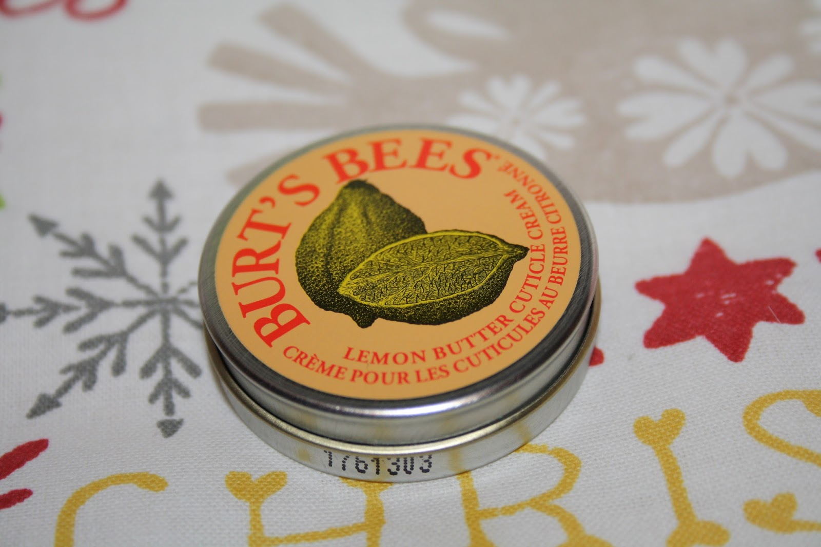Lemon Butter Cuticle Cream