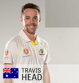 Travis Head image in World Cup, Travis head image