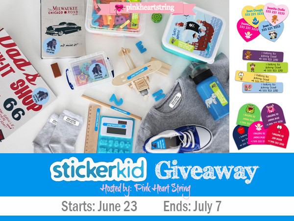 StickerKid Giveaway