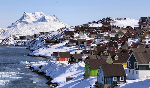 Nuuk city - Greenland