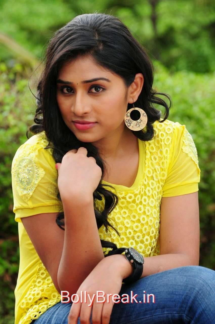 Archana Stills,  Archana Stills in yellow top From Madurai Maavendharkal Tamil Movie