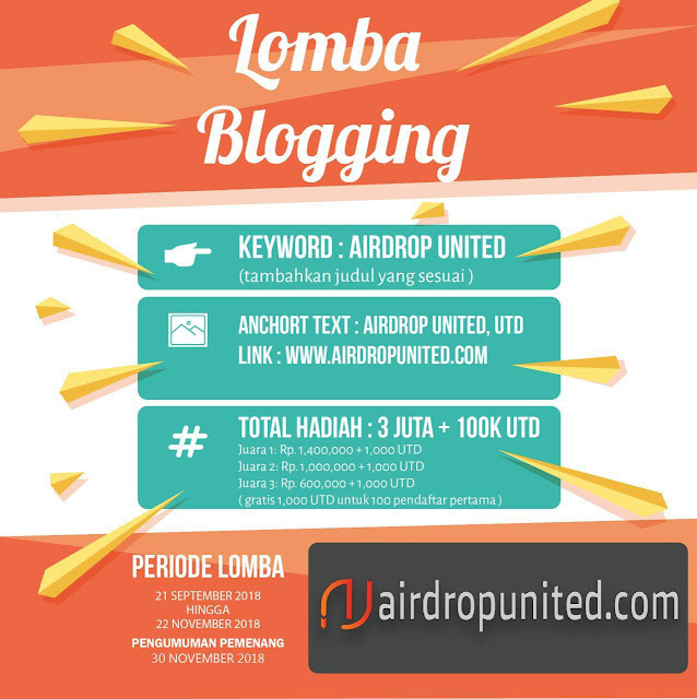 Lomba Blog Airdrop United