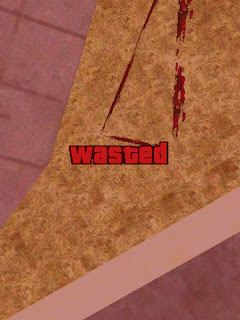 gta v wasted style font for gta san andreas android by rizky game