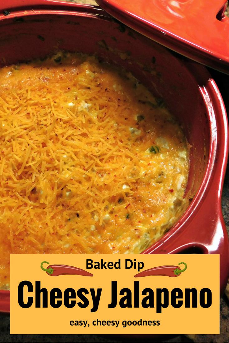 Cheesy Jalapeno Dip #recipe