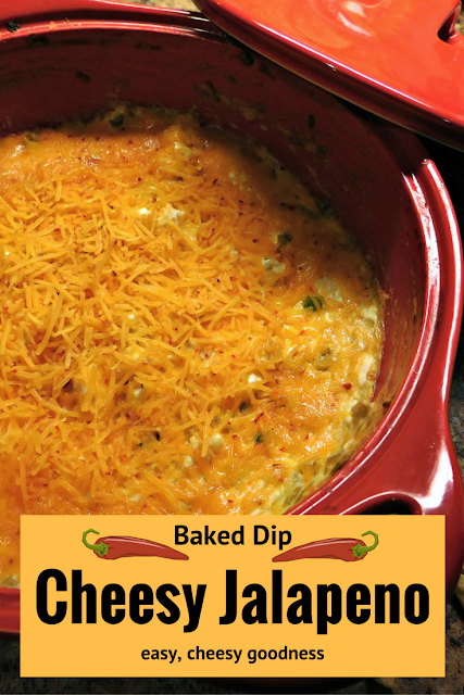 Cheesy Jalapeno Dip #recipe