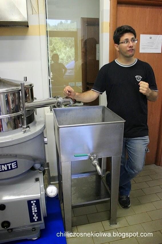 filtrowanie oliwy z oliwek