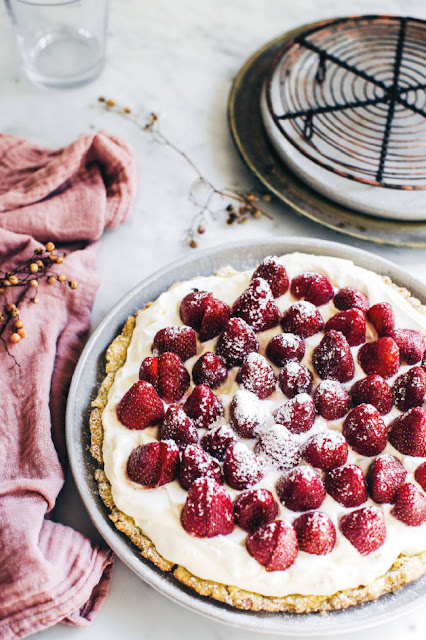 Strawberry Tart photo Kara Rosenlund