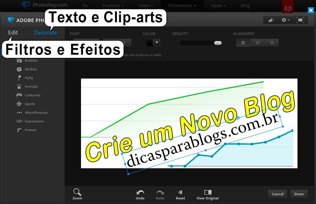 editor de fotos profissional gratis em portugues