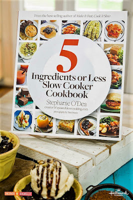 5 Ingredients or Less Slow Cooker Cookbook by New York Times best selling author and slow cooking expert Stephanie O'Dea