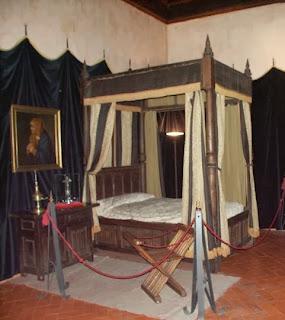 Cama del Emperador Carlos I de España. Yuste. Lacasamundo.com