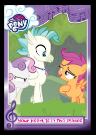 My Little Pony Your Heart is in Two Places Series 5 Trading Card