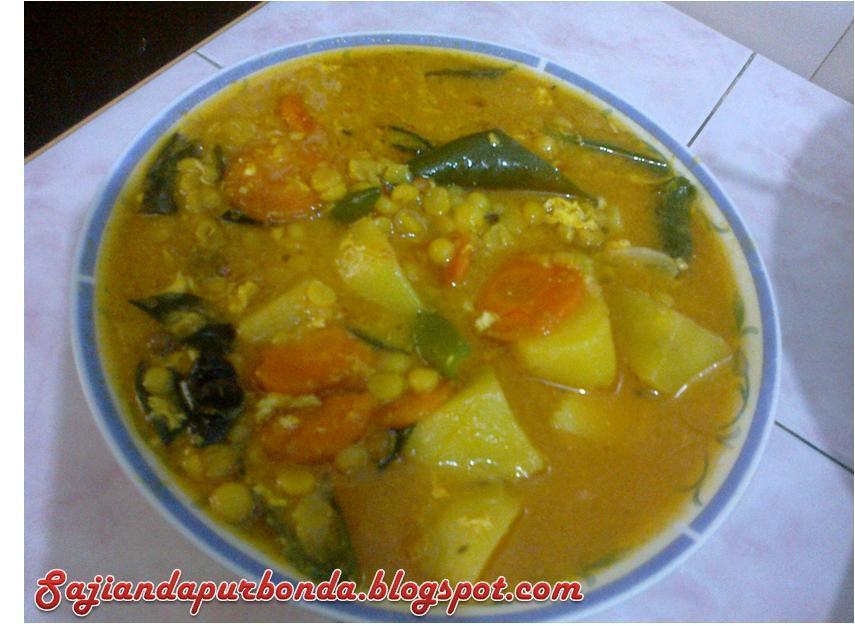Kitchen Mak Tok Sajian Dapur Bonda Kuah Dal