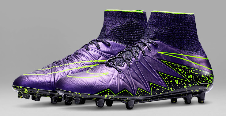 3d5f24302979 Officially released on September 21 2015, the new purple Nike Hypervenom  Phantom II 2015-2016 Football Boots will be worn by Neymar, Rooney and Isco.