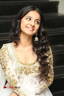 Telugu Actress Mahima Makwana Stills in White Desginer Dress at Venkatapuram Movie Logo Launch  0135.JPG