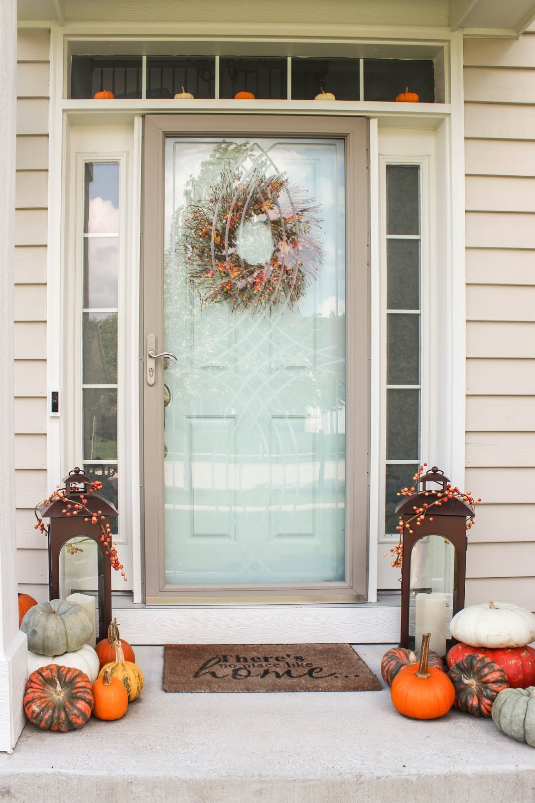 fall decorating ideas for small front porch