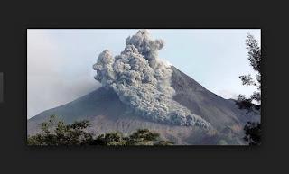 Gunung Berapi sedang aktif di indonesia