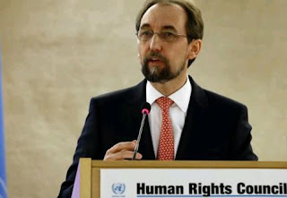 Zeid Ra'ad al-Hussein, the UN human rights chief