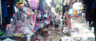 Pants sellers in Edo market laments; says female customers no longer patronize them