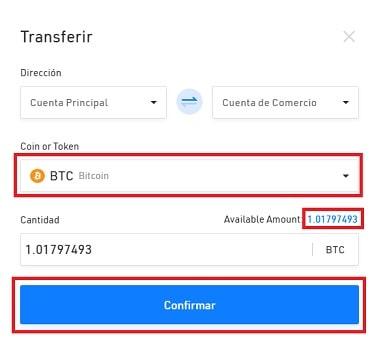 Transferir Bitcoin para Comprar Criptomoneda SYNTHETIX NETWORK TOKEN (SNX)
