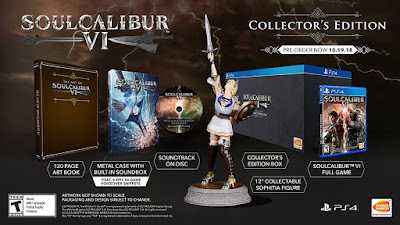 Soulcalibur 6 Game Cover Ps4 Collectors Edition