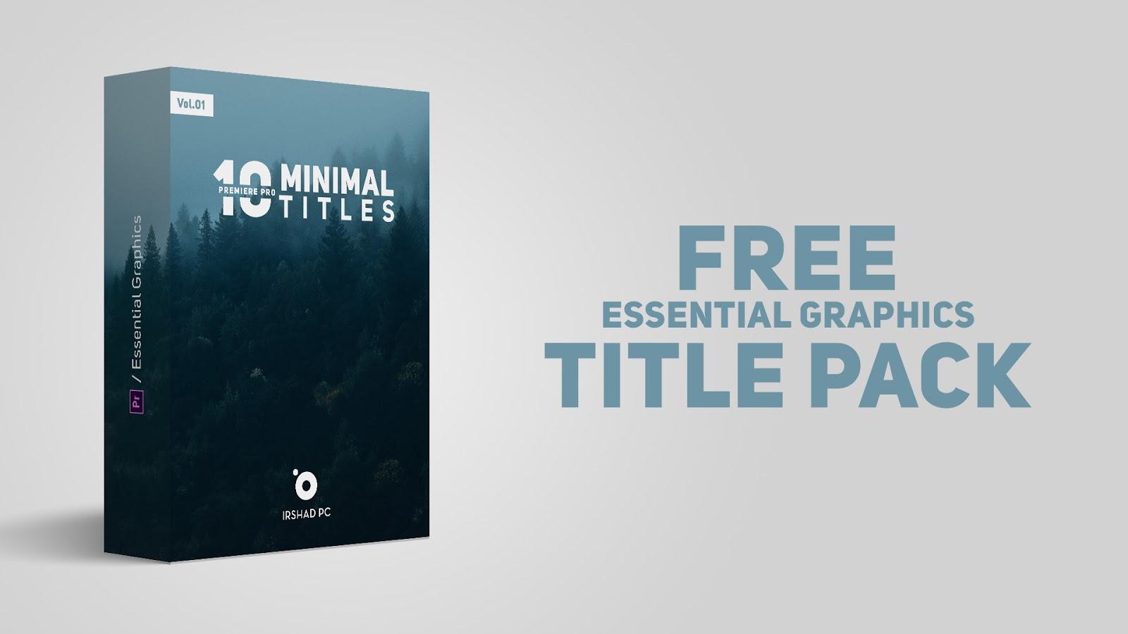 free premiere pro title templates.html