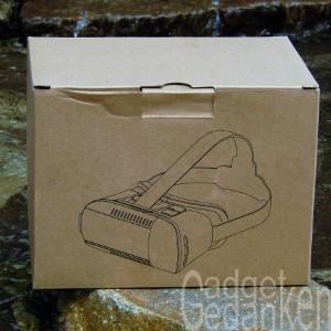 SimbR VR-Brille: schlichte Verpackung