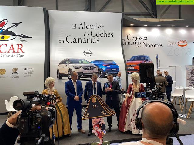 Cicar se une a las Fiestas Lustrales 2020 como empresa oficial de coches de alquiler