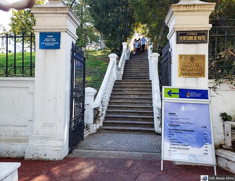 Museu Marítimo Nacional em Valparaíso - Diário de Bordo Chile: 8 dias em Santiago e arredores