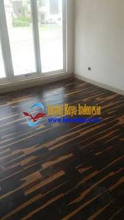 [ Promo ] Jual Lantai kayu Parquet Sonokeling harga murah