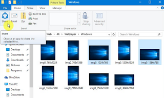 Cara Mudah Sharing File ke Social Media di Windows 10
