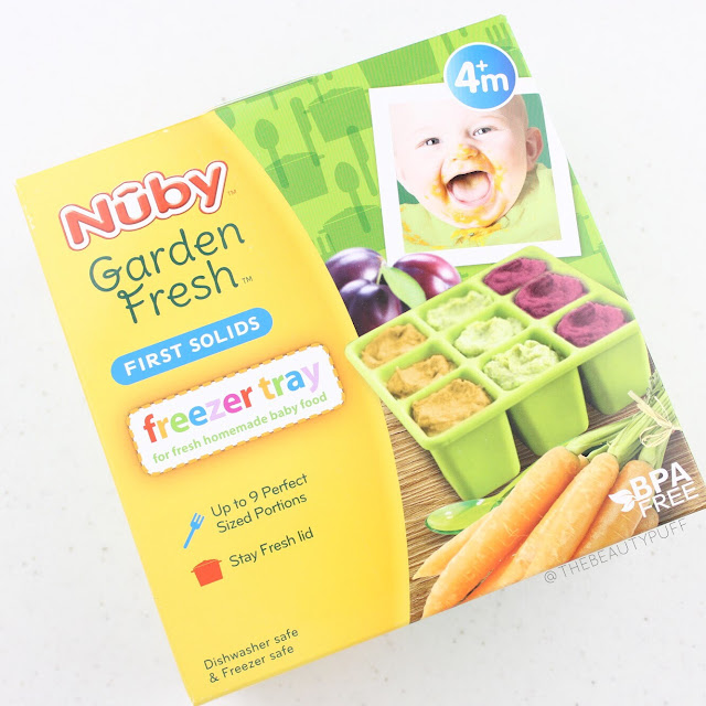 Nuby Garden Fresh Freezer Tray  |  The Beauty Puff