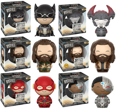 Justice League Movie Dorbz Series Vinyl Figures by Funko x DC Comics