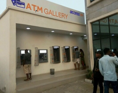 Access bank reacts to viral video of one of their ATMs in UNILAG that displayed pornographic content