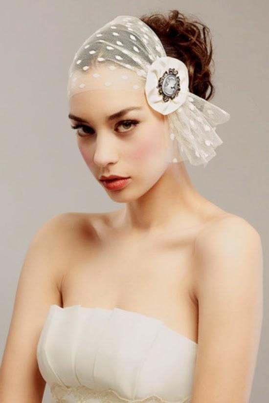 Memorable Wedding: Bridal Veil Ideas For Short Hair Styles
