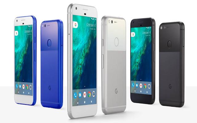 google pixel 2 va pixel xl 2 1