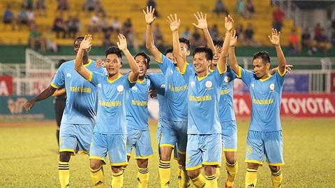Đội hình thi đấu của Khánh Hòa đồng đều và mạnh