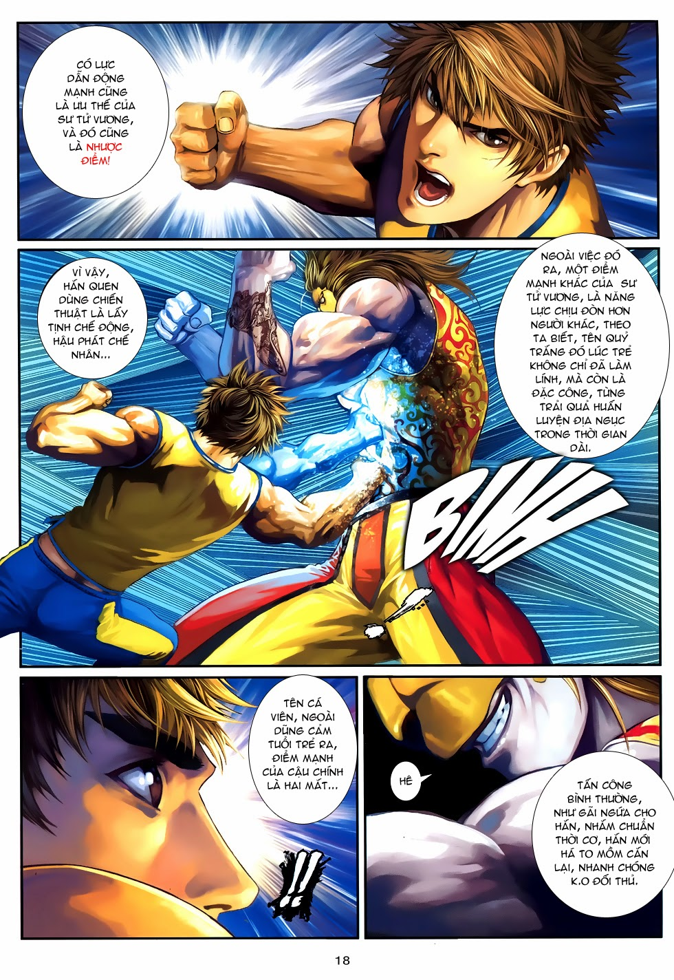 Quyền Đạo chapter 9 trang 18