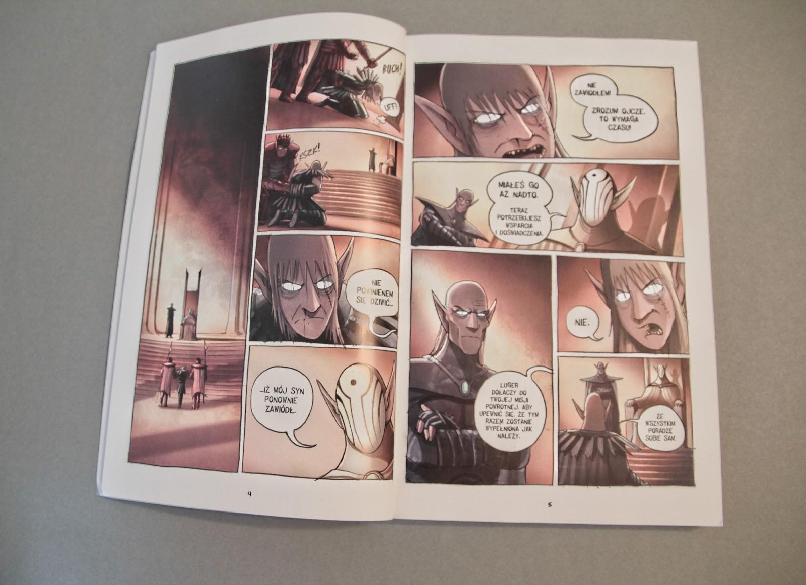 """komiks """"Amulet. Strażniczka"""", """"Amulet. Klątwa strażniczki"""" Kazu Kibuishi Planeta Komiksów"""