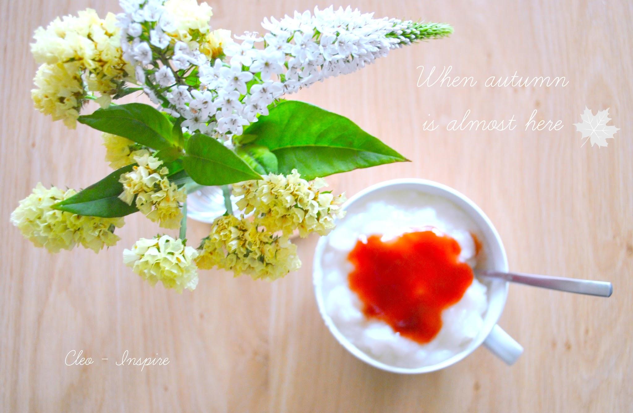 jesienne słodkości