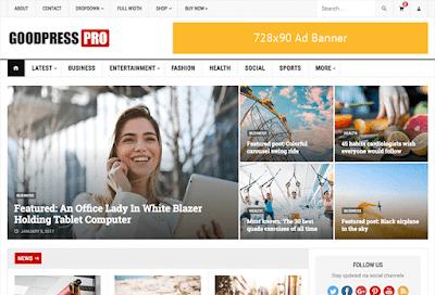 GoodPress WordPress Theme