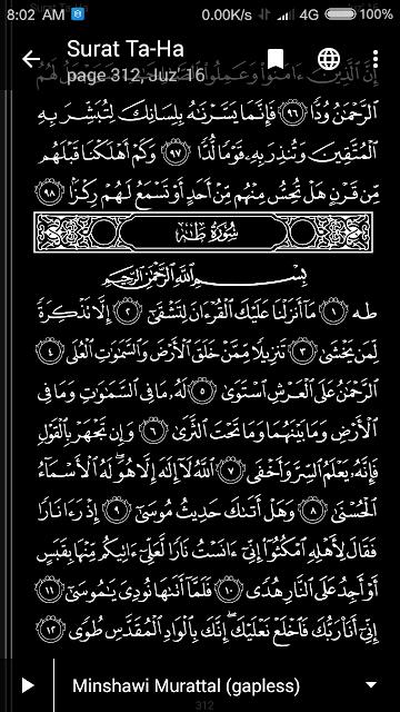 Quran Android APK - Baca Al Quran mode gelap