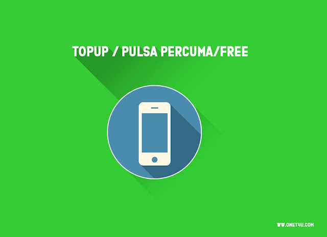 Cara mendapatkan Topup/Pulsa Free Malaysia dan Indonesia