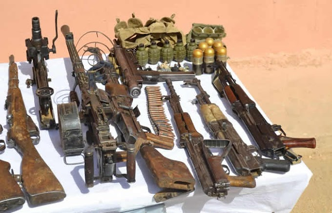 Army recovers arms cache near Otuoke in Bayelsa