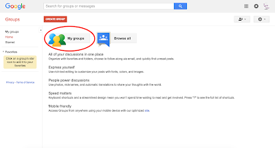Setting up distribution list in Google Apps