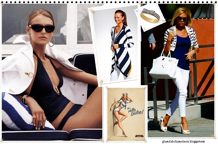 white and navy summer fashion looks and outfit ideas