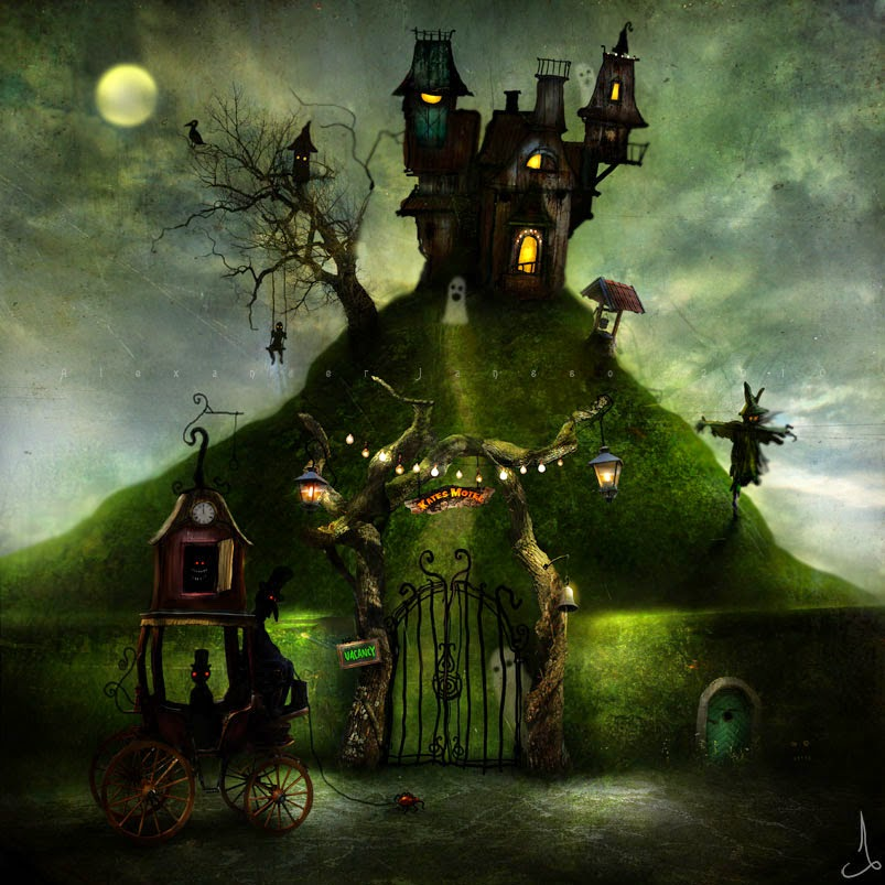 09-Alexander-Jansson-Fairy-tale-Worlds-in-Surreal-Paintings-www-designstack-co