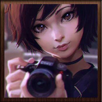 Fille Photographe Anime - Avatar en HD