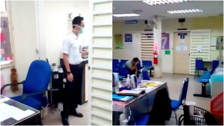 [Video] Pesakit Mengamuk Terpaksa Tunggu Sejam Untuk Dapatkan Rawatan