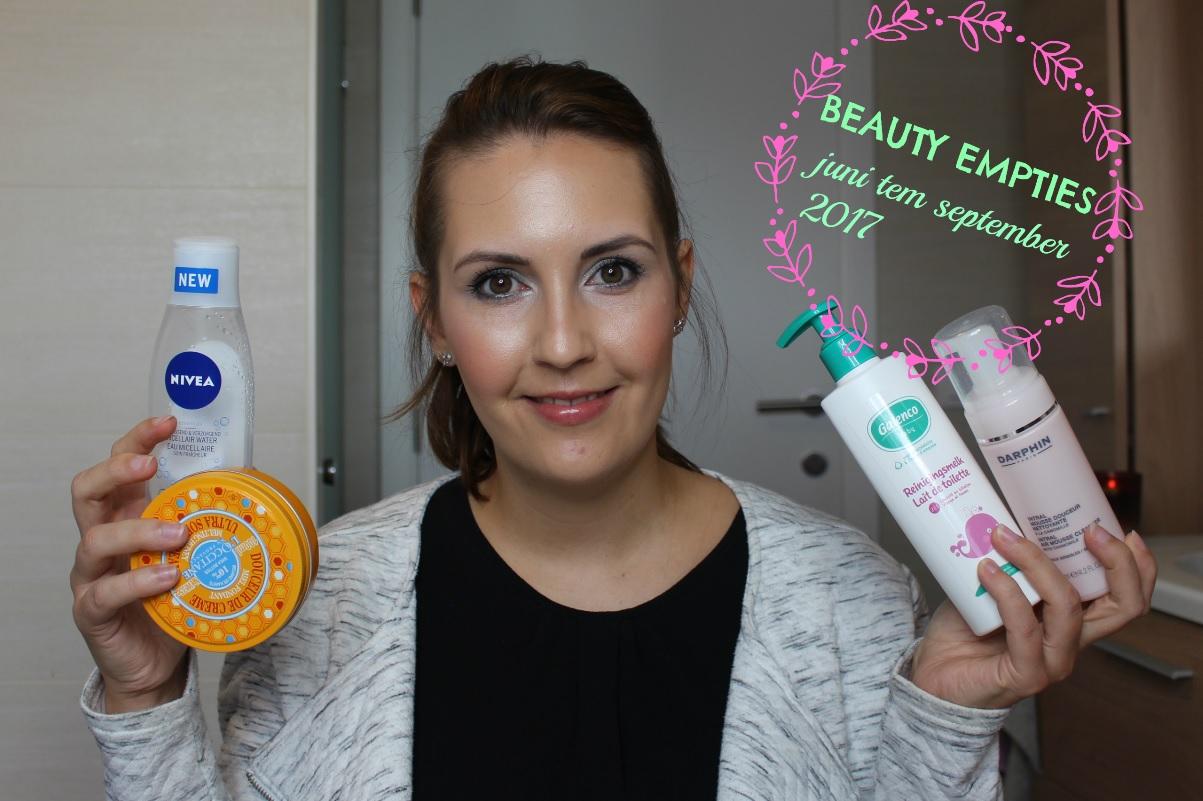 opgemaakte beauty producten